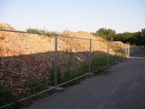 Baugrube Absichern